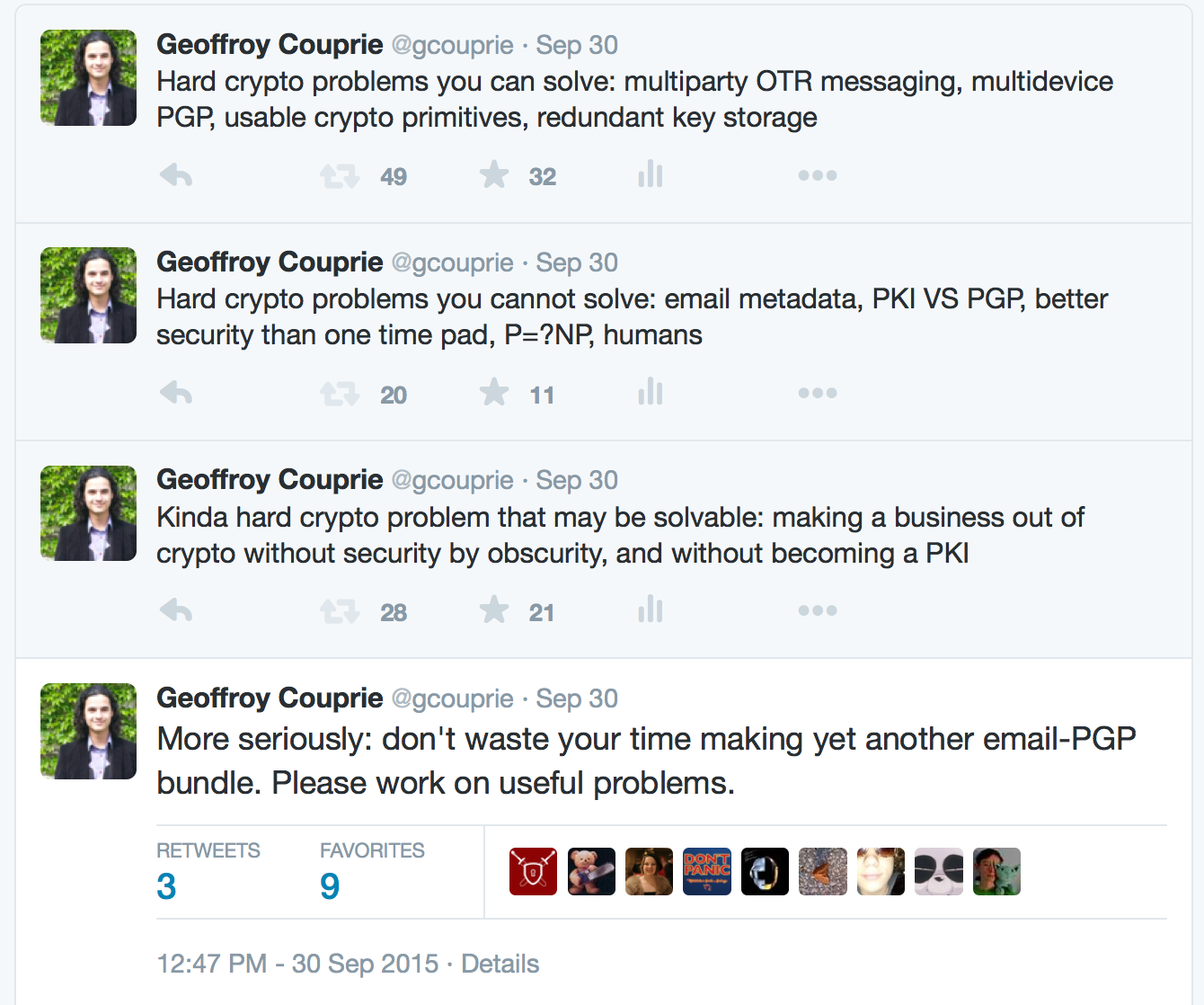 Unhandled Expression · Geoffroy Couprie – software security and